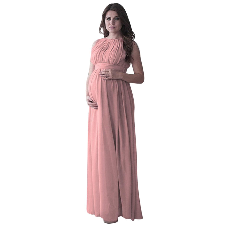 Falda Partidade Disfraz Gasa para Mujeres Embarazadas,Longra ❤ Ropa de Disfraz Gasa de Manga Larga Accesorios de Fotografía Mujeres Embarazadas -3 Colors ...