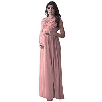 Longra Falda Partidade Disfraz Gasa para Mujeres Embarazadas, Ropa de Disfraz Gasa de Manga Larga