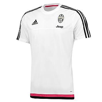 adidas Men s Juve TRG T-Shirt Red White Black ROSFUE 51580a677