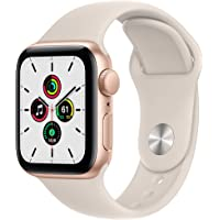 $279 » Apple Watch SE (GPS, 40mm) - Gold Aluminium Case with Starlight Sport Band - Regular