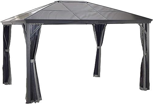 Sojag 10 x 14 Verona Hardtop Gazebo Outdoor Sun Shelter
