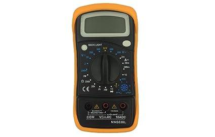 BRUFER 33055 LCD Display Digital Multimeter with Transistor hFE
