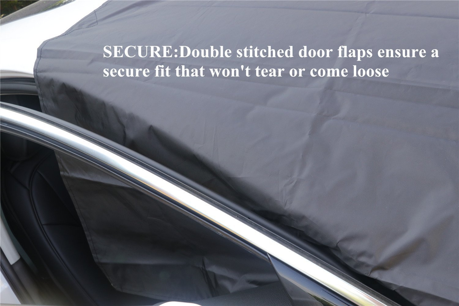 Magnetic Frost Guard Car Windproof Shield Windshield Snow Ice Cover With Mirror Protective Covers Double Side For Winter /& Summer Truck Large 84 X 49 Van Fits Most Vehicles SUV