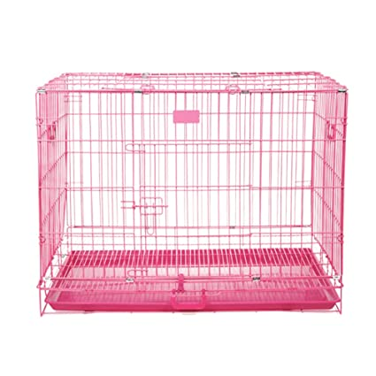Folding Metal Dog Cratedog Cage Cat Cage Small Medium To Large