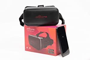VR Headset for iPhone/Android. Virtual reality goggles compatible with iPhone 12/11/X/XS/8, Samsung Galaxy S8/S7/J3/S7/S6, Note 9/8/7/6/5/4. Watch HD movies, YouTube, 3D videos. Portable & lightweight