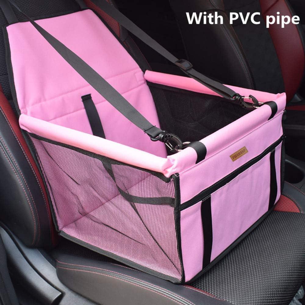 Trasportino Auto Borsa per Cani Coprisedile Impermeabile per Proteggere Sedile di Automobile per Animali Domestici Blue SWIHELP Seggiolino Auto per Cane
