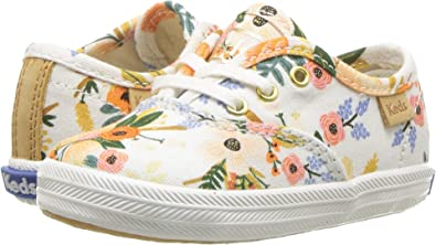7bd364f581 Amazon.com  Keds Kids Womens Rifle Paper Champion Seasonal Crib  (Infant Toddler)  Shoes