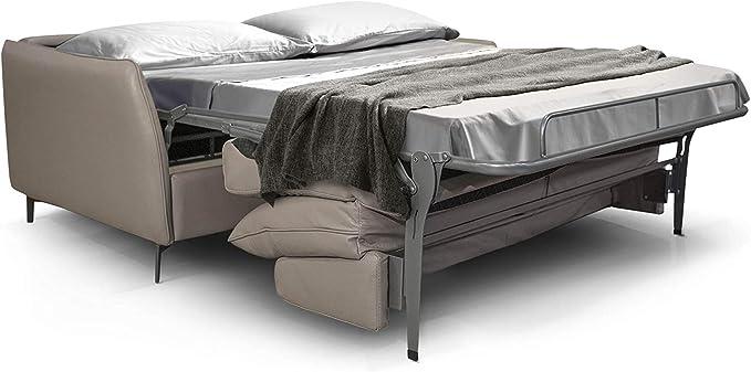 Amazon.com: Dodo - Sofá para dormir, piel italiana ...