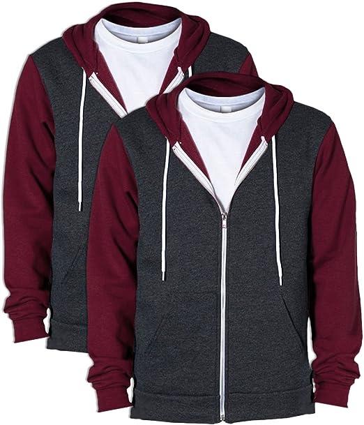 American Apparel Flex Fleece Zip Hoodie F497