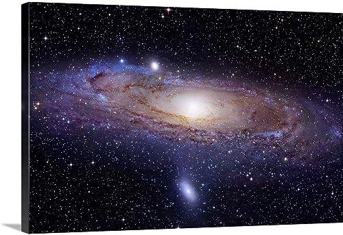 The Andromeda Galaxy Canvas Wall Art Print