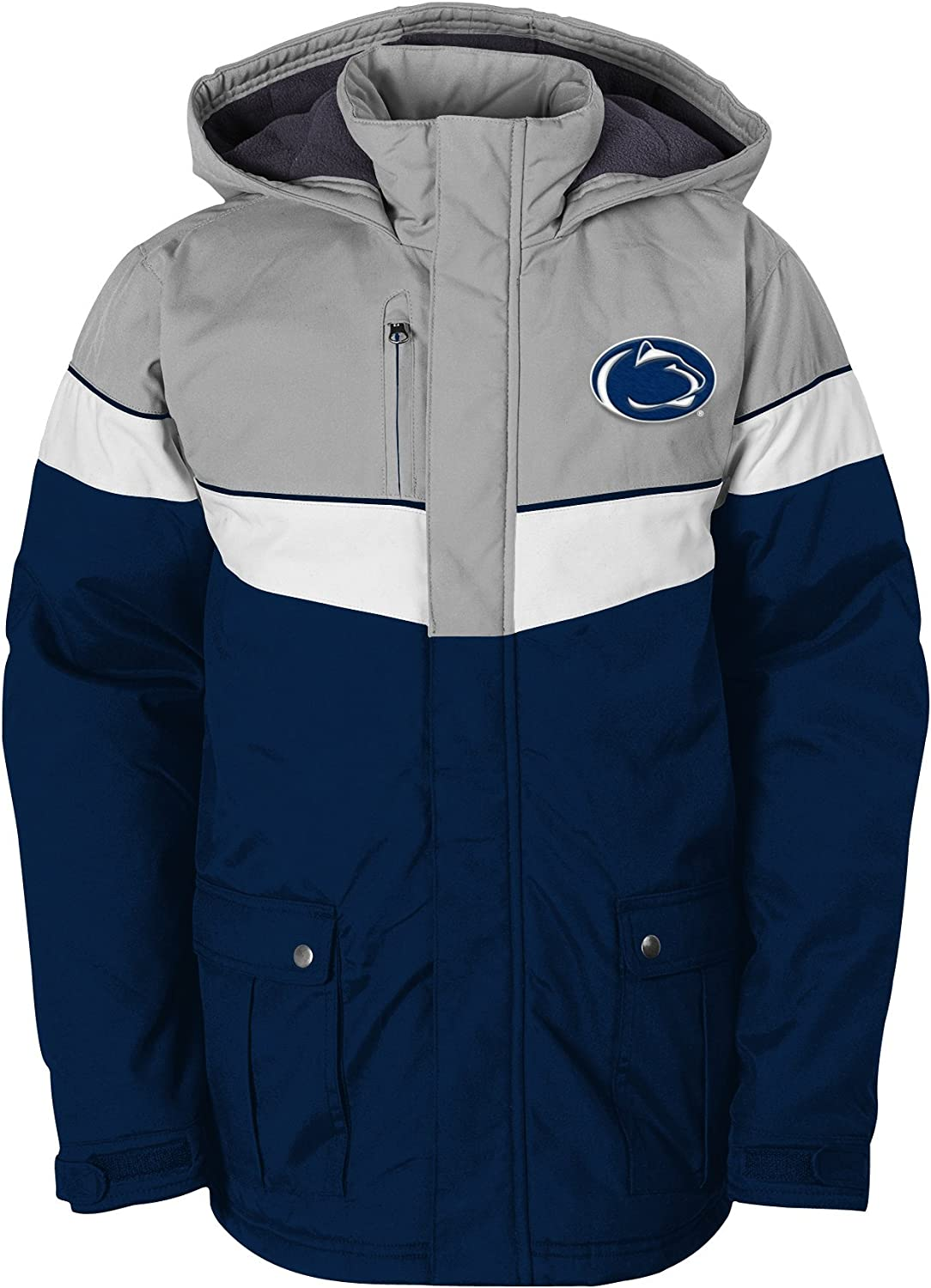 NCAA by Outerstuff NCAA Youth Boys All American Heavy Weight Parka Jacket