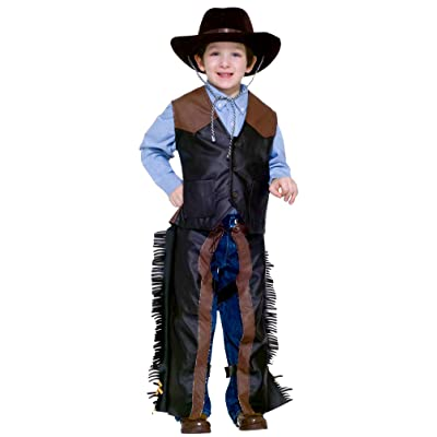 Forum Novelties Kids Dress-Up Cowboy Costume, One Color, Small: Toys & Games