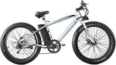 cooshional Bicicleta de Montaña Eléctrica Plegable con Pantalla ...