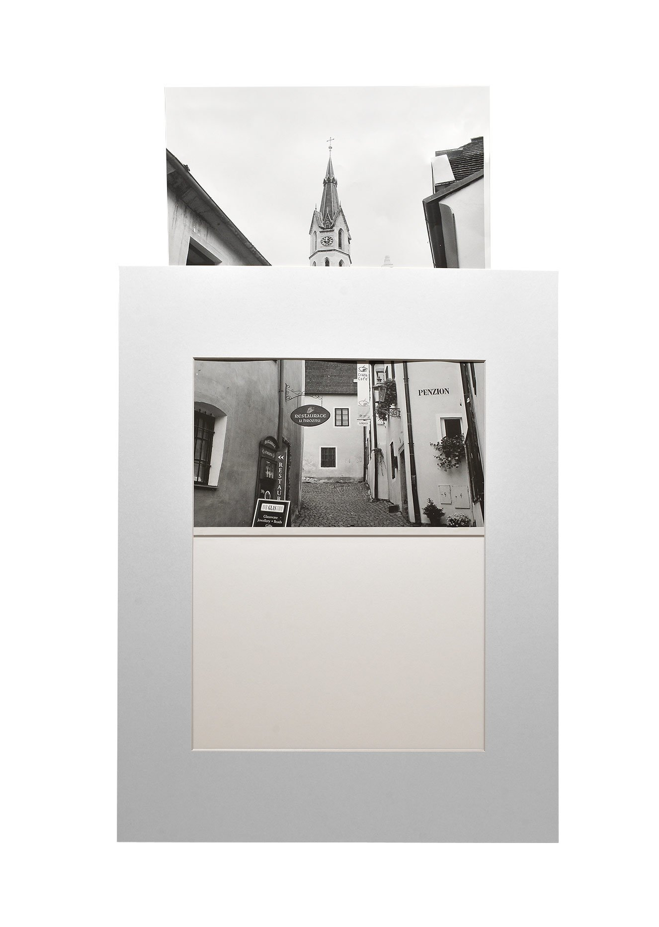 Golden State Art, Pack of 10 White 16x20 Slip-in Pre-Adhesive Photo Mat for 11x14 Picture with Backing Board pre-Assembled, Includes 10 Clear Bags