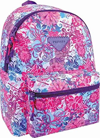 Mochila Escolar Privata Floralise: Amazon.es: Equipaje
