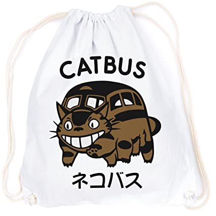 vanverden Sport Turn Bolsa Mi Vecino catbus Anime Gatos Front Incluye Tarjeta de Regalo, Unisex