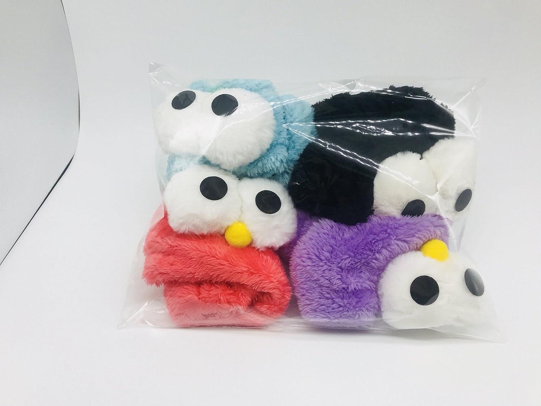 Buy Fururu 4pcs Soft Cute Cartoon Big Eyes Hair Band Makeup Wash