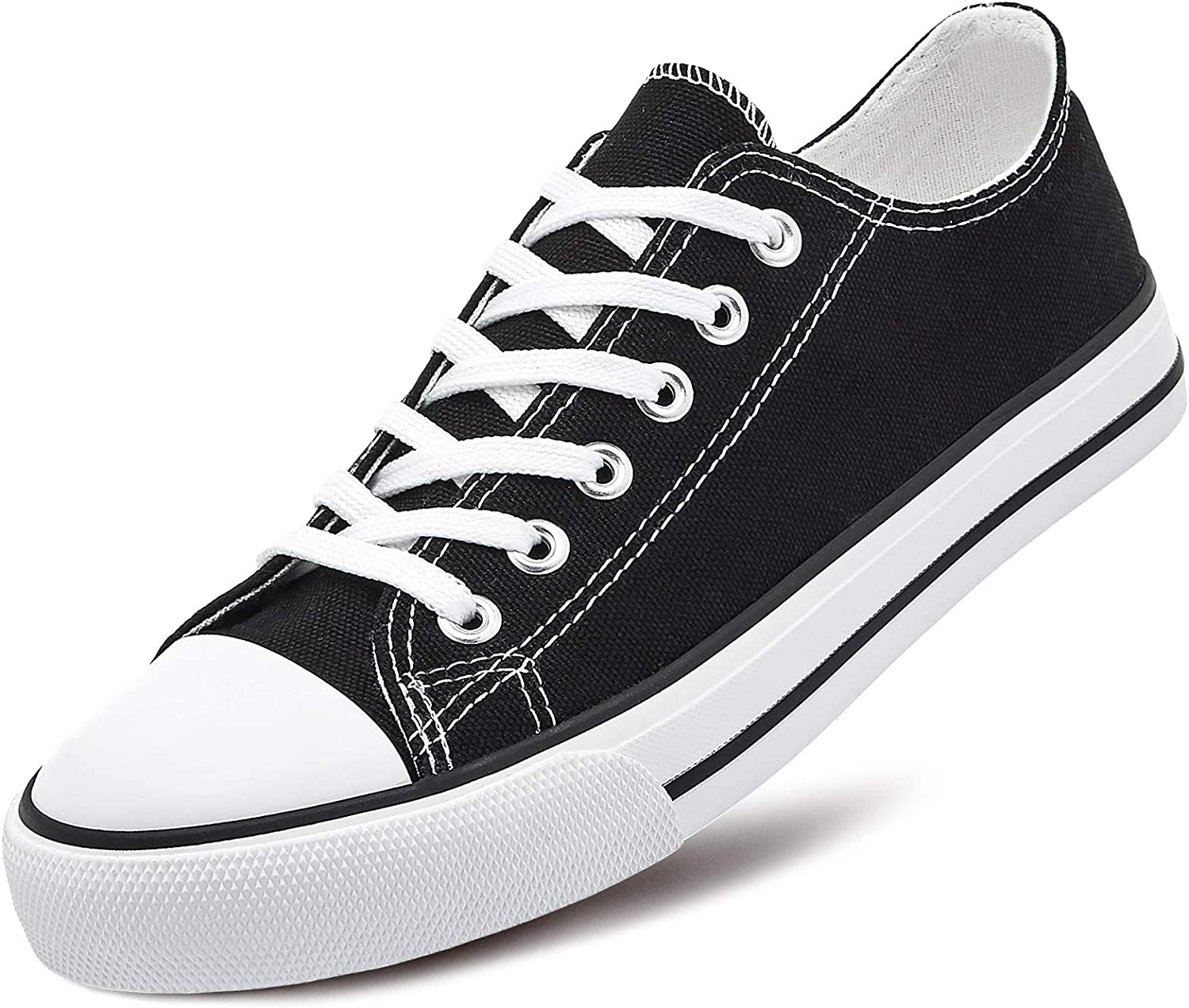 Adokoo Womens Canvas Shoes Casual Cute