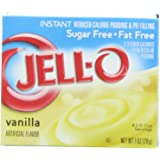 Jello Instant Vanilla Pudding mix SUGAR FREE 28g