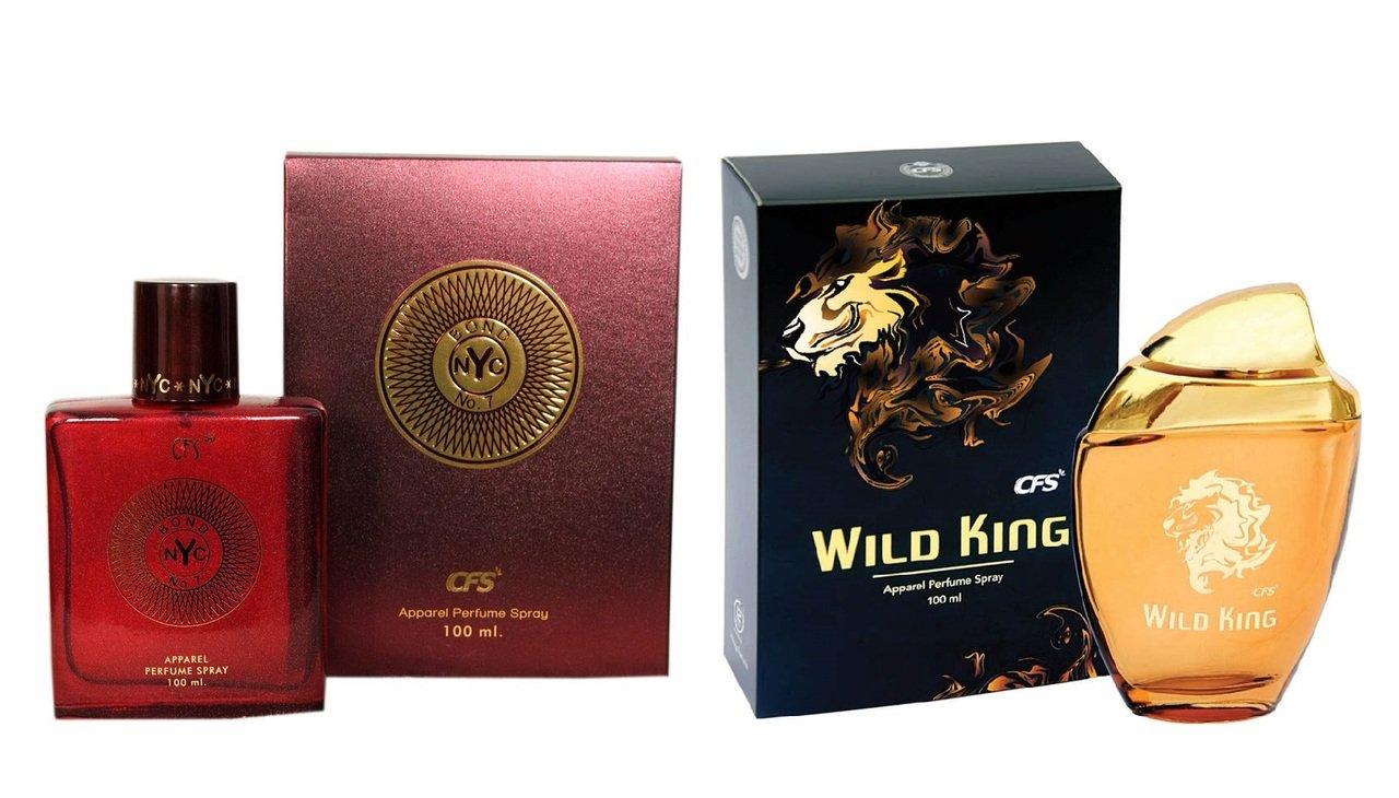 Buy Cfs Exotic Nyc Bond And Wild King Combo Perfume 100ml100ml For