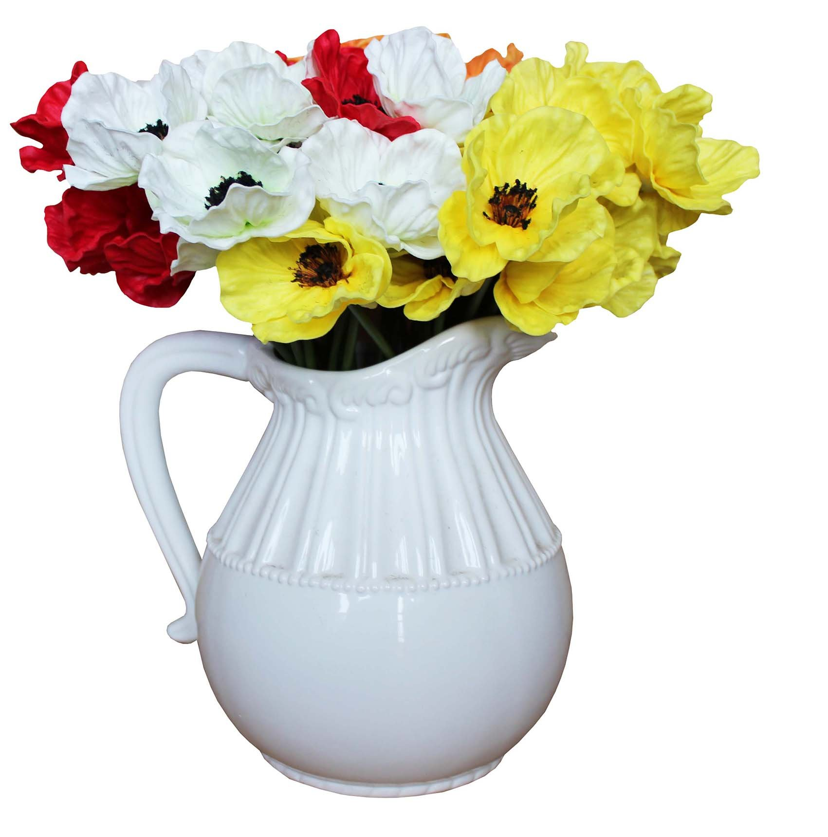 En-Ge-10-Stems-Mini-Artificial-Poppies-Real-Touch-Fake-Latex-Flowers-for-Bridal-Wedding-Bouquet-Home-Kitchen-Desktop-Party-Decor