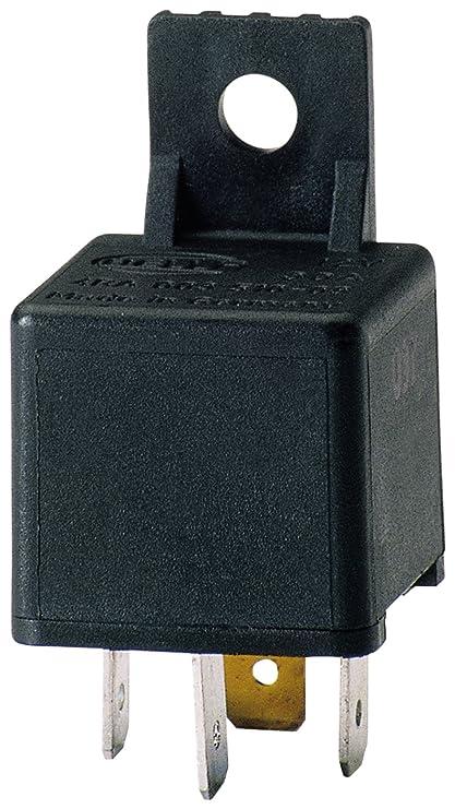 Wondrous Amazon Com Hella 003510087 30 Amp 12V Mini Spst Relay With Bracket Wiring Digital Resources Honesemecshebarightsorg