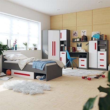 SMARTBett - Chambre d\'adolescent pour Fille et garçon Git 02 ...