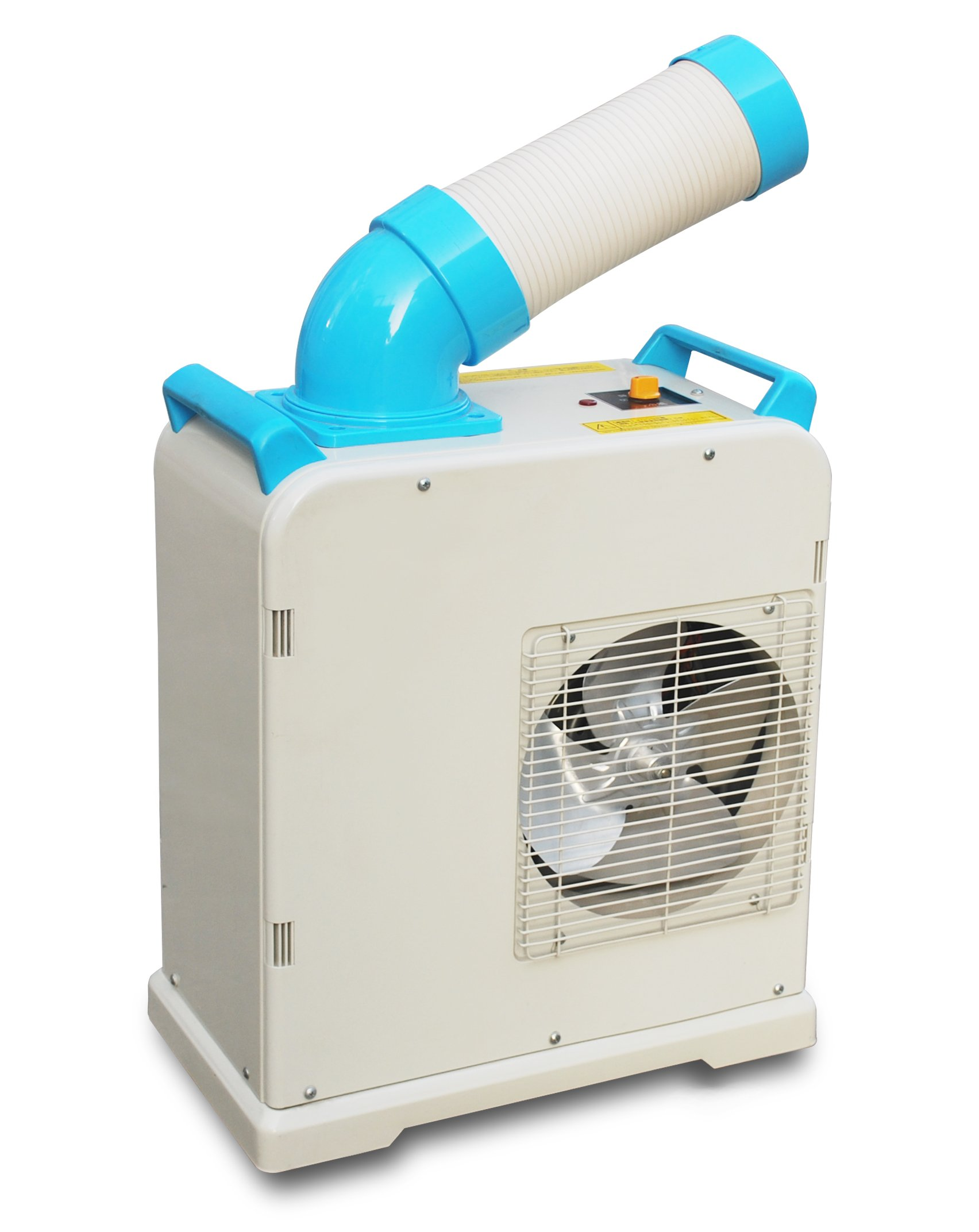 TurquoPower PAC6000 Industrial Class Portable Spot Air Conditioner with Top Evaporator, 6130 Btu/h Cooling Capacity, 115V, 1 Phase