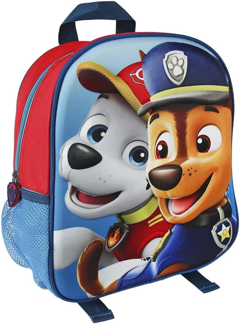 Paw Patrol Junior Backpack For Children Kids for School Cool 3D Effect Boys Girl