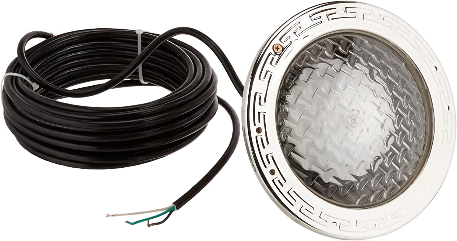 15/' Cord with Stainless Steel Face Ring Pool Light 78441100 Pentair Amerlite\