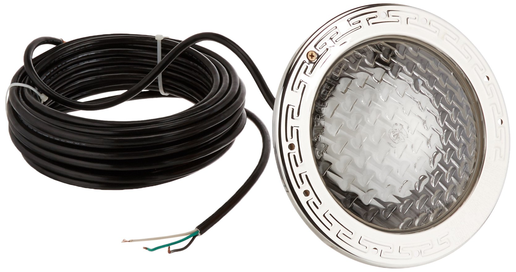 Pentair 78428100 Amerlite Underwater Incandescent Pool Light with Stainless Steel Face Ring, 120 Volt, 50 Foot Cord, 300 Watt by Pentair