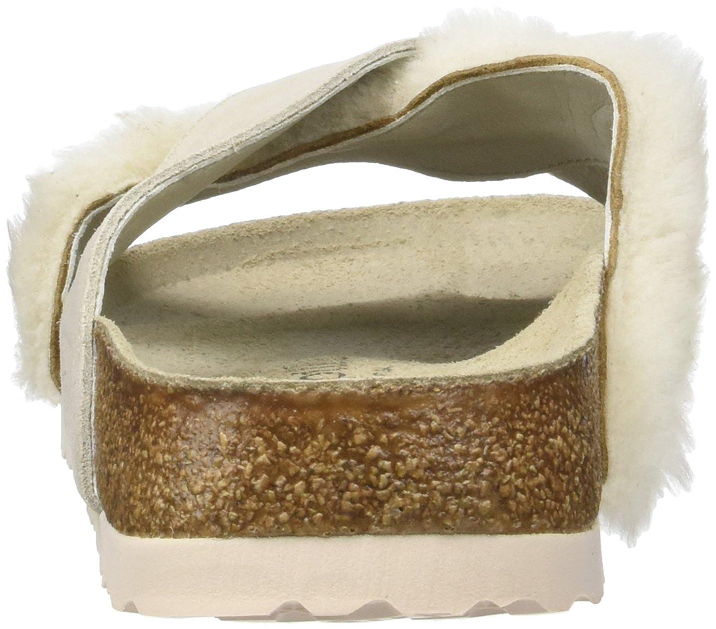 45c147e5b743 Amazon.com  Papillio Daytona Suede Leather Fur Cozy Off White  Shoes