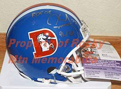 Image Unavailable. Image not available for. Color  Broncos Karl Mecklenburg  Autographed Signed ... 8efc700f4