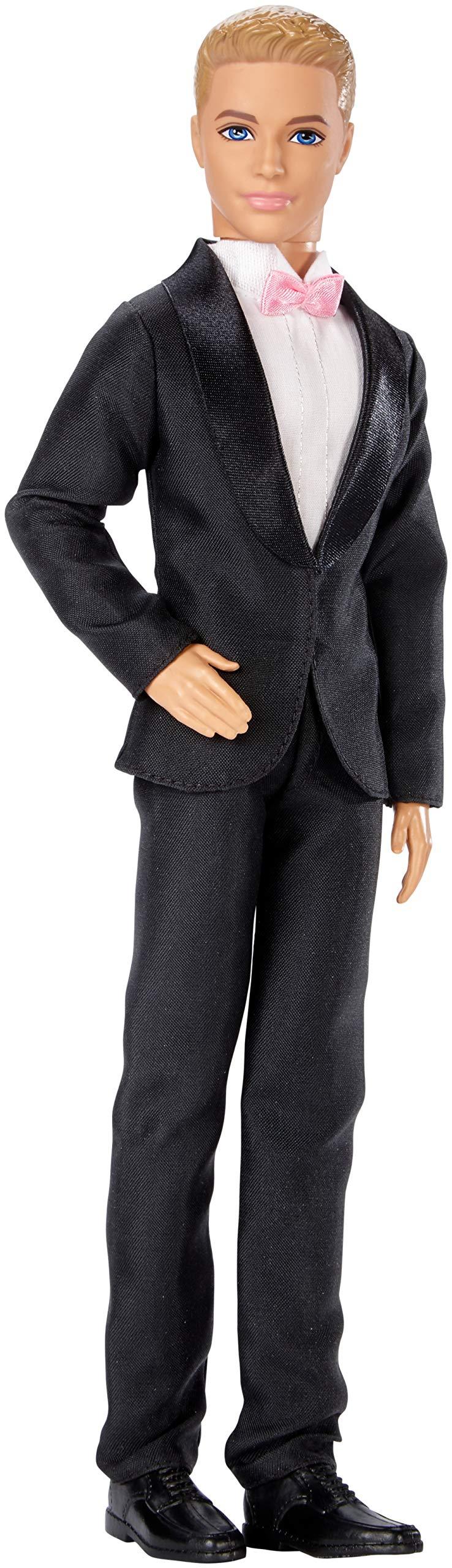 Barbie Fairytale Groom Ken Doll in Tuxedo [Amazon Exclusive]