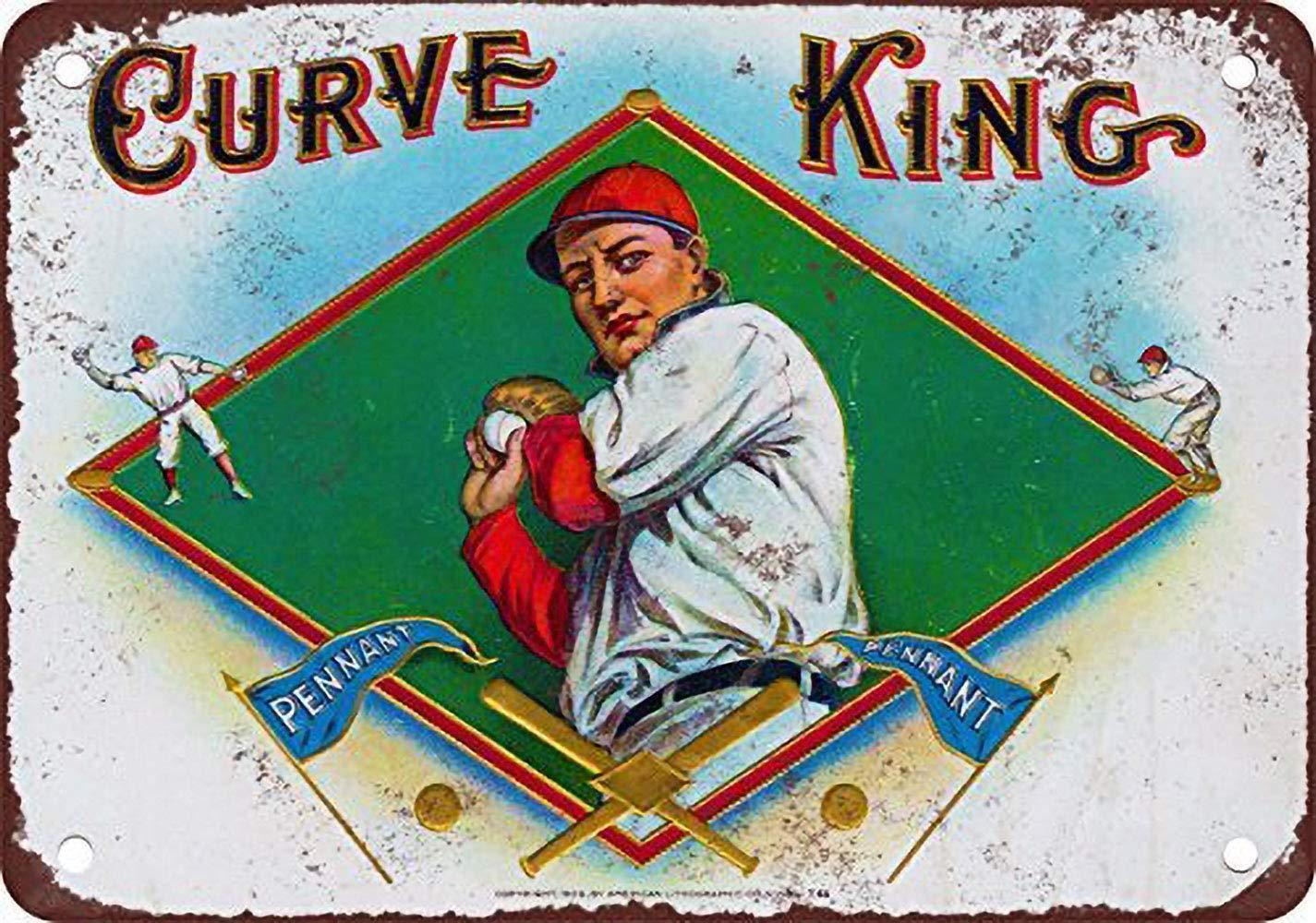 Vvision Curve King Cigars El Arte Pintura de Hierro Cartel ...