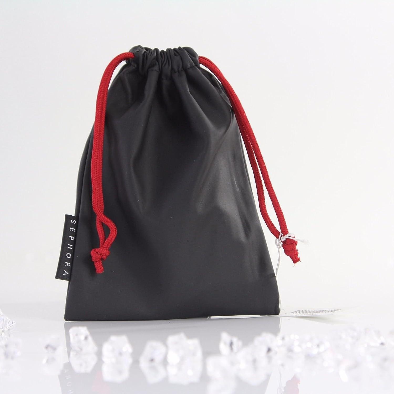 Sephora Cordón Pocuh Negro Viaje Maquillaje joyería bolsa de regalo: Amazon.es: Belleza