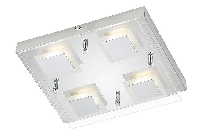 Moderne Lampen 5 : Briloner leuchten 3153 048 a panel led ceiling light 4 x led 5