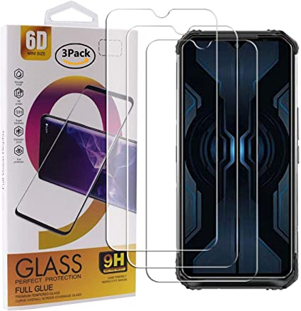 Guran 3 Paquete Cristal Templado Protector de Pantalla para Doogee ...