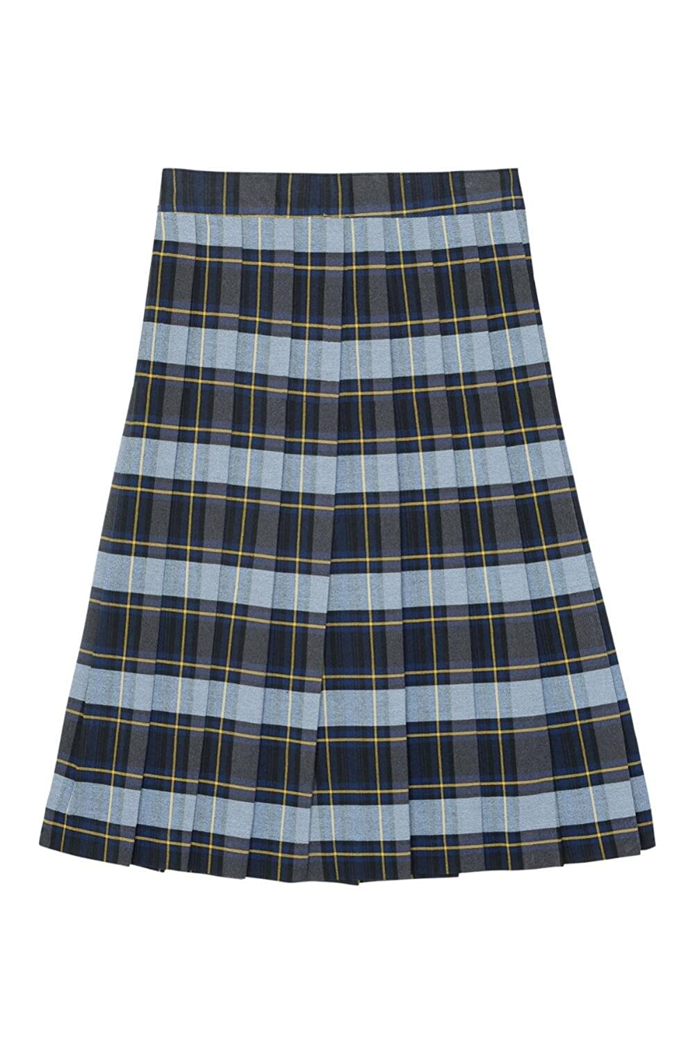 French Toast Below The Knee Plaid Pleated Skirtt(Junior Sizes) French Toast School Uniforms 1575X BLGP 9J
