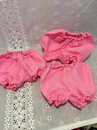 Fits Chatty Cathy Doll Clothes White Panties Bloomers Underwear Lot of 3 pcs Handmade