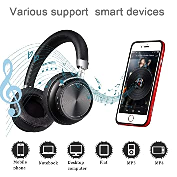 Auriculares inalámbricos para videojuegos DIWUER Bluetooth V4.1 auriculares estéreo con cancelación de ruido para