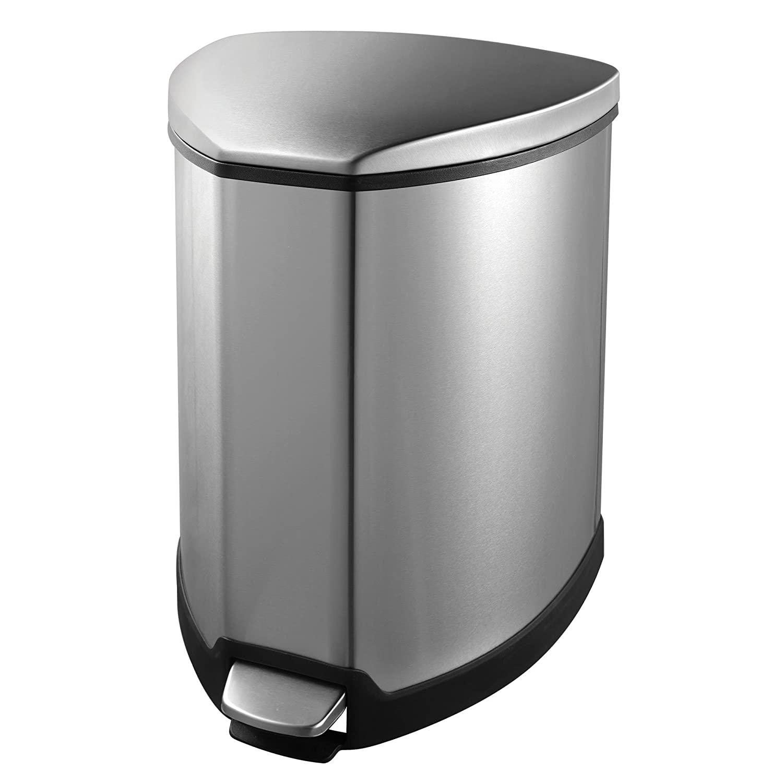 Amazon EKO 1 Grace 1 25 Gallon Stainless Steel Step Trash