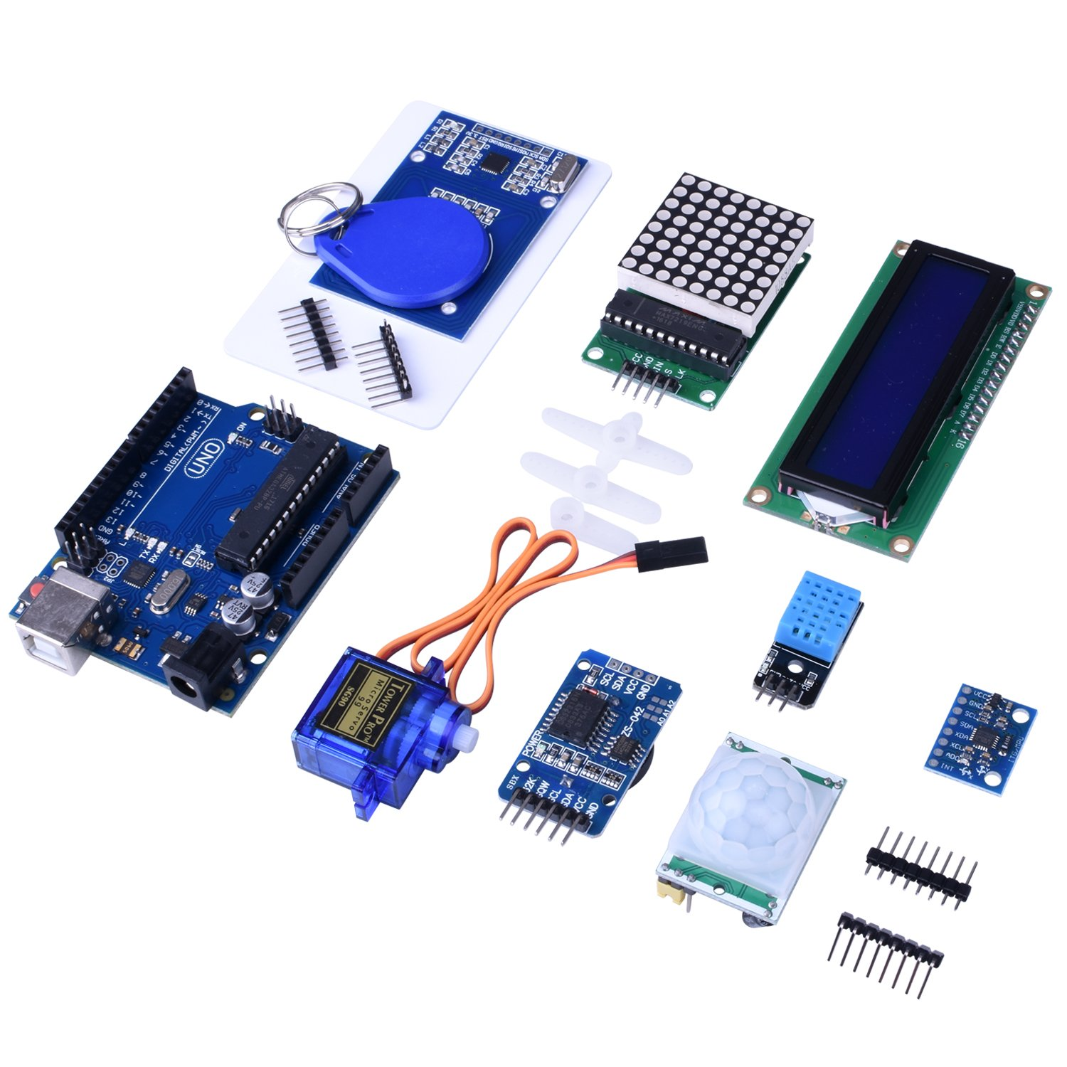 Quimat Project Complete Starter Kit For Arduino Uno R3 Mega 2560 Tutorial Lesson 3 Breadboards And Leds Robot Nano Breadboard Kits With Tutorials