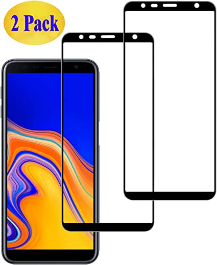 Eachy Compatible con Cristal Templado Samsung Galaxy J6 Plus ...