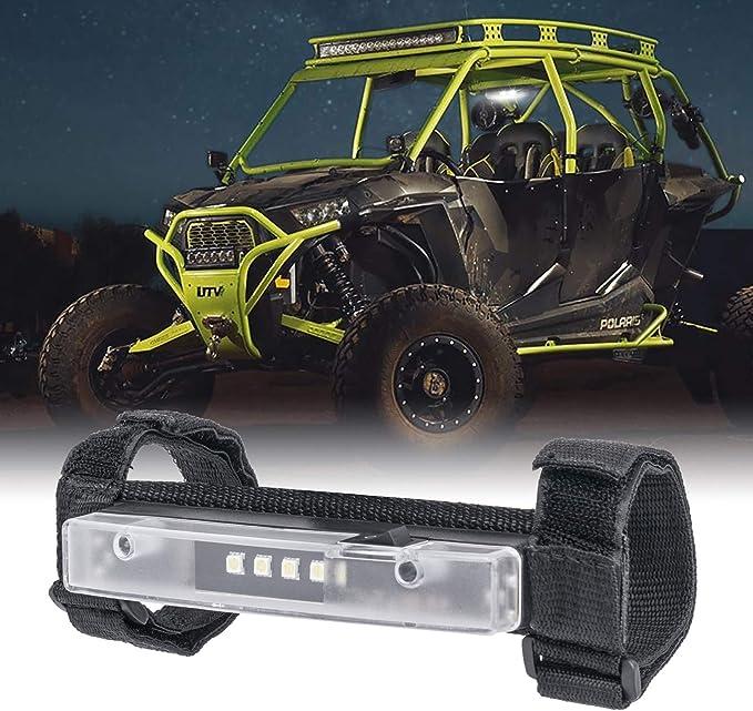 OPL5 Universal Roll Bar Mount for LED Light UTV Interior Light Utility Courtesy Work Light Wraparound Roll Light Bar Dome Light for UTV ATV Truck Car Off Road Vehicle
