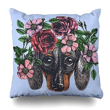 Amazon.com: Funda de almohada decorativa para sofá/cama ...