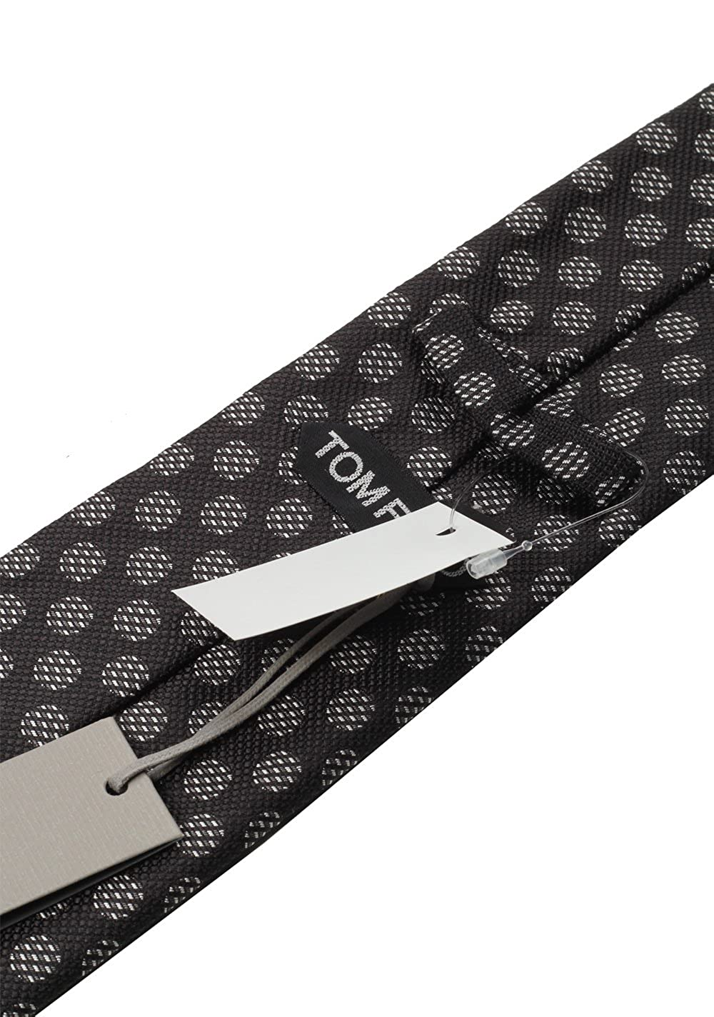 TOM FORD Patterned Black Tie In Silk CL