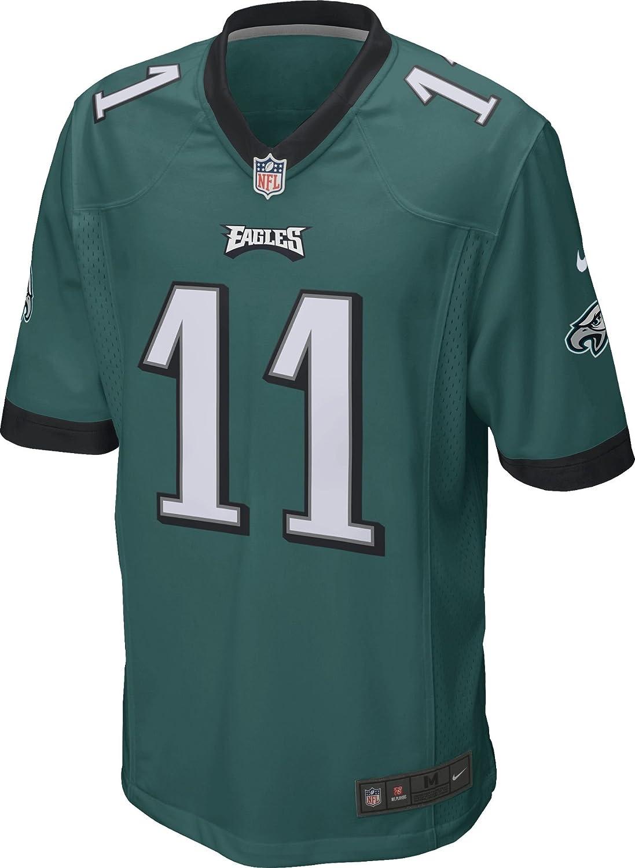 8e99b810 Amazon.com: Nike Men's NFL Philadelphia Eagles Wentz Game Jersey: Clothing
