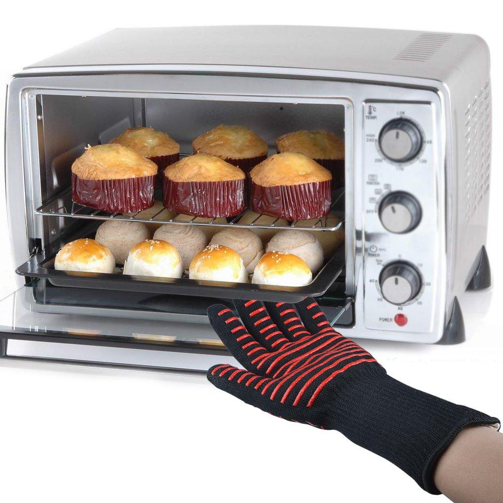 COOLINGTECH barbacoa guantes grill guantes de cocina 932 °F ...