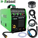 220V Mig Welding Machine MIG155 Gas/No Gas, MMA/MIG Flux Wire ...